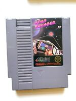 Star Voyager ORIGINAL NINTENDO NES GAME Tested + Working & AUTHENTIC!
