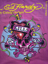 DONEDHARDY By Christian Audigier LOWE KILLS SLOWLY L MADE IN USA