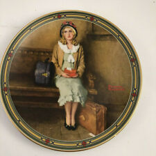 """Norman Rockwell 1985 """"A Young Girls Dream� Collectors Plate with Original Box"""