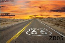 20X10FT Route 66 Road Scenic Vinyl Photography Backdrop Background Studio Props