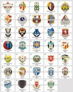 Badge Pin: European football clubs Malta