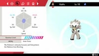 Kubfu & Urshifu (Both Forms) TRADING NOW 6IV Pokémon Sword Shield Isle Of Armor