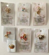 & Sewing Basket Pin /Xmas Gifts! Angel Pins, The Cat's Meow, Canada