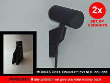 2x Wall Mount Holder bracket hanger rack for Oculus Rift CV1 VR sensor