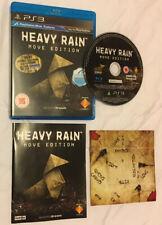 Heavy Rain Playstation 3 PS3 New Not Sealed