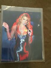 Maria Carey 8 x 10 Photo Print Autographed Signed with COA
