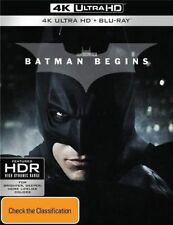 Batman Begins (Blu-ray, 2017, 3-Disc Set)