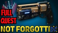 Destiny 2 Not Forgotten Full Quest and 5500 competitive points ps4