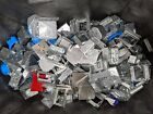 25 LBS - Assorted Lot Electrical Gang Boxes, Outlet Boxes, Covers - Bulk