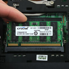 Crucial Intel 2GB 2Rx8 PC2-6400S DDR2 800MHz 200PIN SO-DIMM RAM Laptop Memory H2