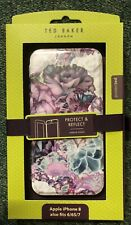 Ted Baker New Apple iPhone 8/7/6/6s Protect & Reflect Flip Cover With Mirror