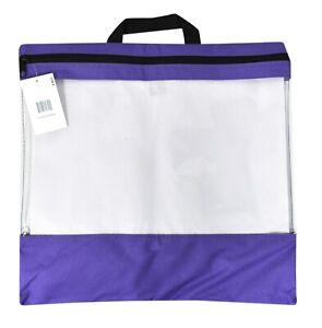 Craft Caddy Bag 18 Inch By 16 Inch Purple