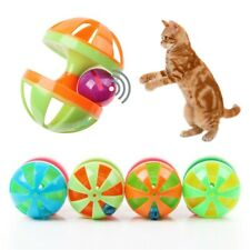 Pet Cat Funny Interactive Toys Bell Ball Sound Toys Random Color For Pet Cat