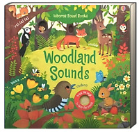 Usborne Sound Books Woodland Sounds by Sam Taplin (Board Book) FREE ship $35