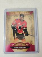 SEAN MONAHAN 2020-21 UPPER DECK ARTIFACTS PINK PARALLEL 20/30 SP CALGARY FLAMES