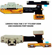 "Protector Lenovo yoga tab 3 10"" YT3-X50F X50M USB Puerto De Carga Conector Dock Flex Board"