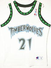 Champion NBA Basketball Trikot Jersey Minnesota Timberwolves Kevin Garnett 36 S