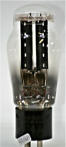 274a western electric tube valve black engraved base rectifier tubes mil specs