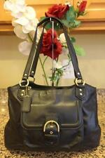 Coach Campbell Leather Belle Carryall Genuine Leather Handbag F24961(u3000
