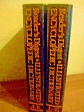 READER'S DIGEST ILLUSTRATED ENCYCLOPEDIC DICTIONARY 1987 H/C First Ed. Set NEW