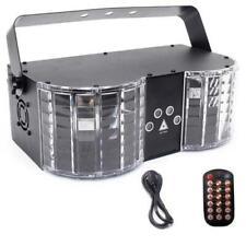 EXTREME BUTTERFLY KING EFFETTO LUCE DOPPIO LASER RG 2X200MW 2X30MW LED RGB 8x3WA
