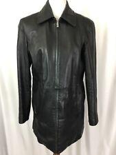 Wilsons Leather Pelle Studio Womens Leather Jacket Thinsulate Full Zip Black M