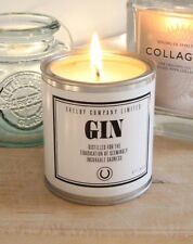 Peaky Blinders Inspired Candle Featuring Gin Bottle Quote Gift