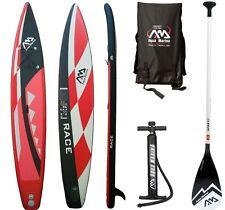 Aqua Marina Race Sup Gonfiabile Stand Up Paddle Surfboard Modello 2017