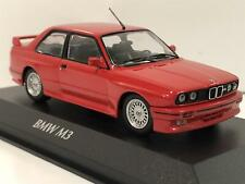 Maxichamps 940020300 BMW M3 E30 Red 1987 1:43 Scale Boxed