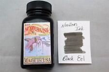 NOODLERS FOUNTAIN PEN INK 3 OZ BOTTLE EEL BLACK