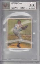 1950 Bowman Card #19 Warren Spahn BRAVES BVG 3.5 VG+ Z18850 - BVG Vg+ 3.5