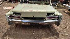 Chrysler Newport New Yorker 300 Rear Bumper 1966 Only