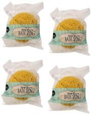 4 x Large Luxury Bath Sponge Extra Soft Bathroom Clean Shower Bubbles Body Wash