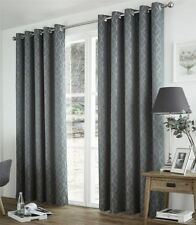 Polyester Geometric Window Curtains