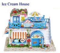 Lovely Cartoon House 3D DIY Jigsaw Puzzle Wisdom Baby Kids Educational Toys New