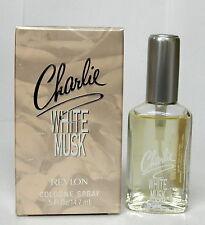 Revlon Charlie White Musk Cologne Spray 0.5oz 14.7mL