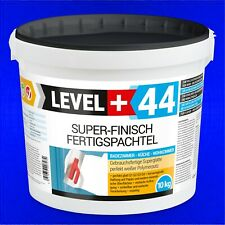 10 kg Super Finish, Fertig Spachtelmasse, Fugenspachtel PERFEKT GLATT  RM44