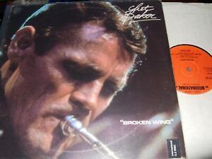 CHET BAKER : BROKEN WING LP 1979 INTERNATIONAL ILS 9062 ITALY