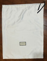 "New Authentic Gucci White DUST BAG 18"" X 23"""
