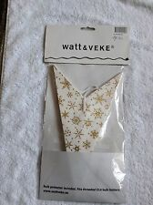 Starlight Lampshade or christmas decoration  star lamp new  Gold Glitter BN!