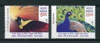 India 2017 MNH PAPUA NEW GUINEA Joint Issue Birds of Paradise Peacock Set