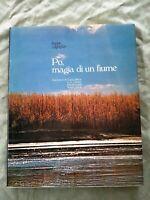LIBRO BOOK Po magia di un fiume libro Beppe Zagaglia Fotografico 1979 GAT3