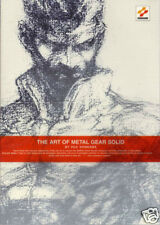 THE ART OF METAL GEAR SOLID Yoji Shinkawa Art Book  1999