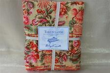 APRIL CORNELL FLORAL TABLECLOTH - 60x120 - RED/PINK/GREEN/YELLOW
