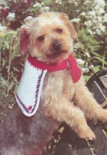 Crochet Pattern ~ DOG BOW TIE & SAILOR COLLAR ~ Instructions