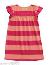 Girls Kids/Toddlers Stripe Pink Sleepdress/Nightdress Sleepwear, L (5-6 y/o)