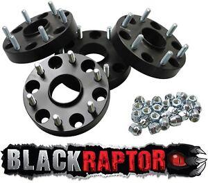 Black Raptor Mitsubishi L200 / Triton 30mm Hubcentric 2006 ON Wheel Spacers