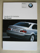 Vendedor manual bmw 3er Coupe e46 318ci 320ci CD 325ci 330ci CD m3 2005 2006