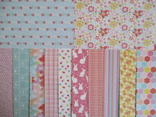 """Dovecraft Blooming Lovely 12 sheets 6x6""""  Scrapbook backing Papers Spring floral"""