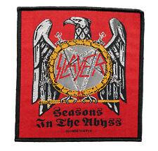 Slayer Seasons in The Abbyss Aufnäher[SP2560)Slayer Patch gewebt & Lizenziert !!